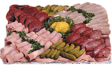Cold Meat Platter | Sandwich Baron