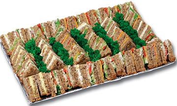 Brown Bread Veggie Sandwich Platter | Sandwich Baron