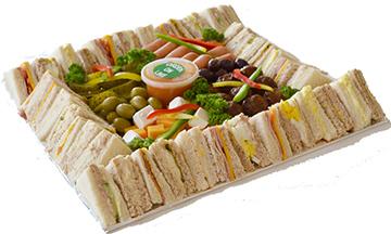 Mixed Sandwich And Salad Platter | Sandwich Baron