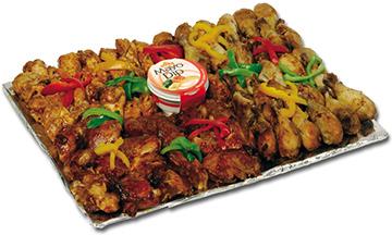Ribs And Chicken Platter   Sandwich Baron