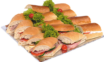Ultimate French Bread With Bacon Platter   Sandwich Baron