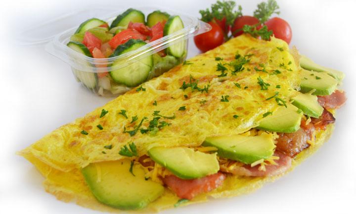 Banting Veggie Omelette | Sandwich Baron 1