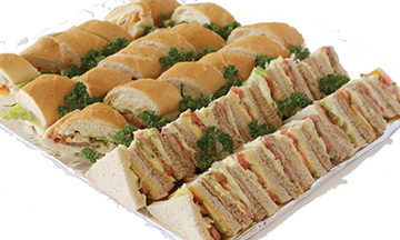 Best Of Both Platter Special | Sandwich Baron