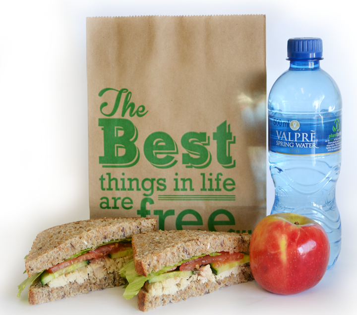Healthy lunch bag