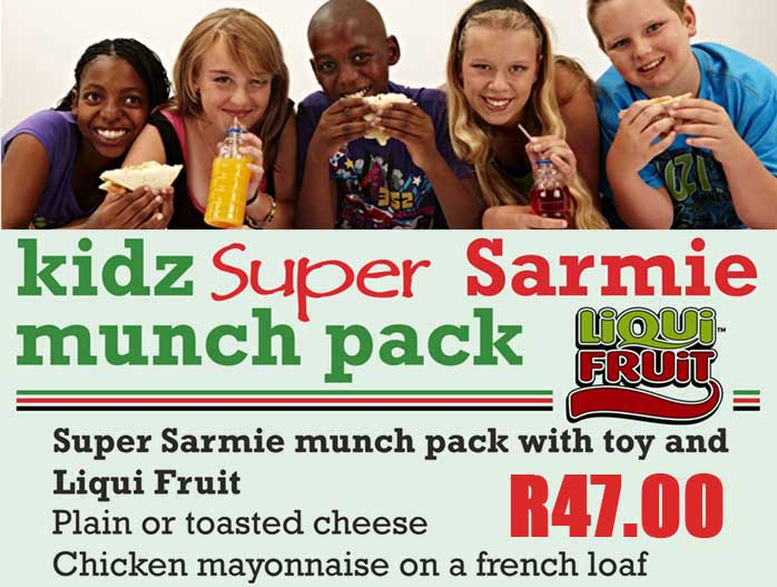 Special Kids Meal Poster | Sandwich Baron