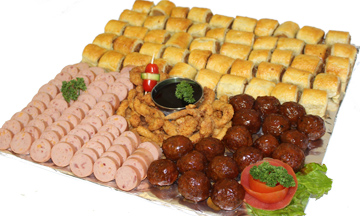 Sausage roll - meatball Party Platter   Sandwich Baron