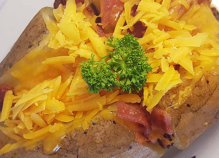 Baked Potato, Bacon And Cheese | Sandwich 2