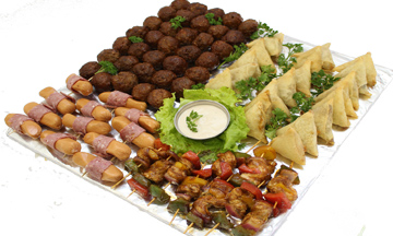 samosa - Meatball Party Platter | Sandwich Baron