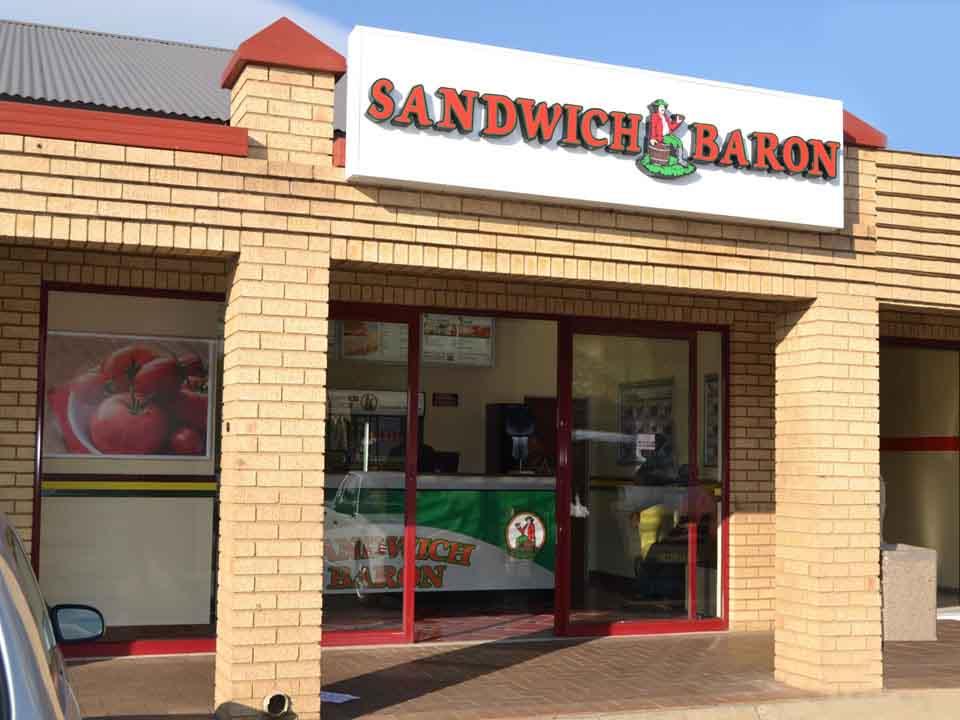 Sandwich Baron Restaurant Outdoor View | Sandwich Baron